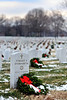 Arlington National Cemetery Christmas Wreaths 2010 :